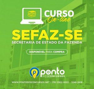 SEFAZ – SECRETARIA DA FAZENDA DE SERGIPE –  EM 10X DE R$ 35,00 SEM JUROS