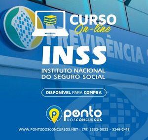 INSTITUTO NACIONAL DO SEGURO SOCIAL – INSS –  EM 10X DE R$ 30,00 SEM JUROS
