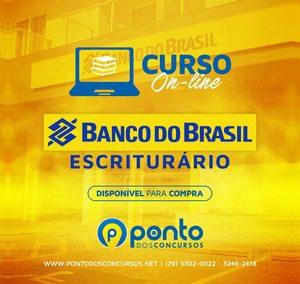 BANCO DO BRASIL- ESCRITURÁRIO – EM 10X DE R$23,90 SEM JUROS