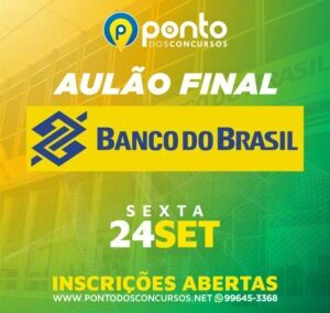 AULÃO FINAL – BANCO DO BRASIL
