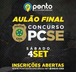 AULÃO FINAL – PCSE
