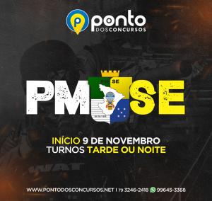 POLÍCIA MILITAR DE SERGIPE – SOLDADO – EM 10X DE 63,00 SEM JUROS – PRESENCIAL