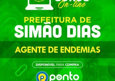 PREFEITURA MUNICIPAL DE SIMÃO DIAS/SE – AGENTE DE ENDEMIAS – R$ 279,90 EM ATÉ 10X SEM JUROS